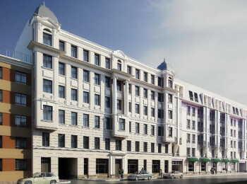 Общий вид на Апарт-отель У Ратуши (на улице Моисеенко)